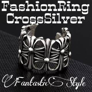 ヴィンテージクロス リング メンズ レディース 十字架 シルバー 指輪 (リング(指輪))