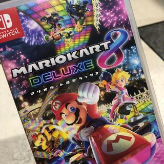 ニンテンドースイッチ(Nintendo Switch)の★新品未使用未開封★ マリオカート8 デラックス (家庭用ゲームソフト)