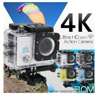 【新品】4K 高画質 スポーツカメラ アクションカメラ  防水WiFi(その他)