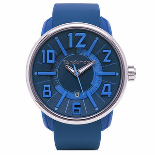 アディダス(adidas)のテンデンス TG730003 ガリバーG-47 ブルー ユニセックス 腕時計(腕時計(アナログ))