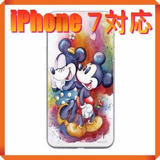 ディズニー(Disney)の★180704★ ミッキー ・ ミニー iPhone 7 ソフトケース ★(iPhoneケース)