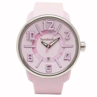テンデンス(Tendence)のテンデンス TG730002 ガリバー G-47 ピンク ユニセックス 腕時計(腕時計)