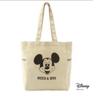 ディズニー(Disney)のミッキーマウス  3ポケットトートバッグ mini付録 Lee特製(トートバッグ)