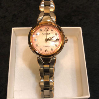 シチズン(CITIZEN)のCITIZEN シチズン エクシード ES8044- 61W(腕時計)