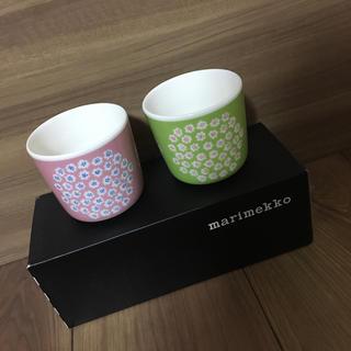 マリメッコ(marimekko)の新品 マリメッコ ラテマグ  プケッティ   廃番品(グラス/カップ)