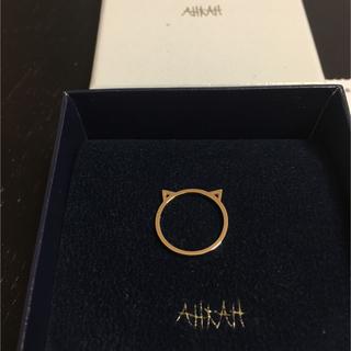 アーカー(AHKAH)のアーカー キトゥン リング 7号(リング(指輪))