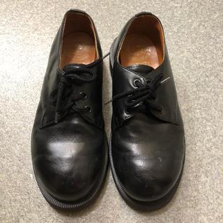 ドクターマーチン(Dr.Martens)のDr.Martens 英国製 3ホール 黒 UK4 スチールトゥ(ブーツ)