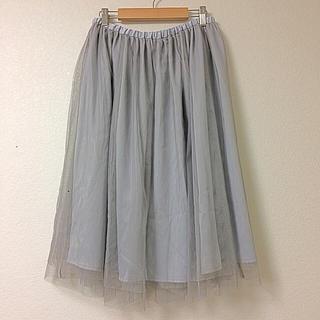 アナトリエ(anatelier)の◼︎新品◼︎セレクトショップで購入♡上質チュールスカート◼︎◼︎(ひざ丈スカート)