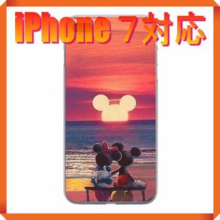 ディズニー(Disney)の★180706★ ミッキー ・ ミニー iPhone 7 ソフトケース ★(iPhoneケース)