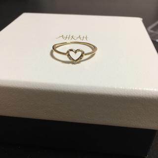 アーカー(AHKAH)のアーカー 2014クリスマス ウィスパーハート リング(リング(指輪))
