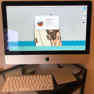 アップル(Apple)のiMac 21.5 inch late 2013(デスクトップ型PC)