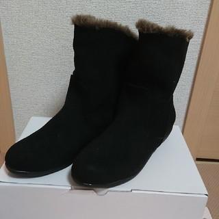 マルイ(マルイ)の【美品】velikoko 2WAY ブーツ フェイクスエード(ブーツ)