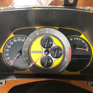 トヨタ(トヨタ)のアルテッツァ SXE10 純正オプション イエロー エアバック ハンドルセット(車種別パーツ)
