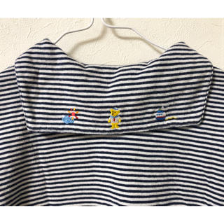 mikihouse - ミキハウス110cm セーラーボーダーTシャツ