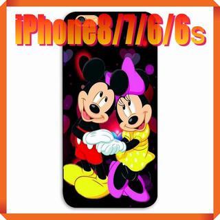 ディズニー(Disney)の★180703★ ミッキー ・ ミニー iPhone 8/7/6/6sケース ★(iPhoneケース)