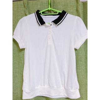 ジーユー(GU)のジーユー♡ポロシャツ ホワイト(ポロシャツ)