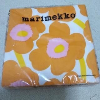 マリメッコ(marimekko)の【新品未使用】marimekko ペーパーナプキン(テーブル用品)