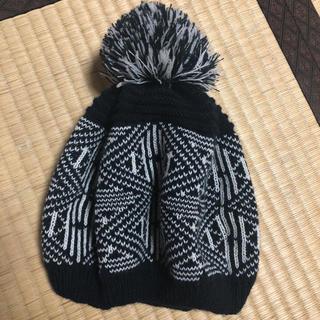 ダズリン(dazzlin)のdazzlin ニットベレー帽 美品(ハンチング/ベレー帽)