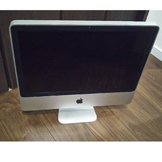 マック(Mac (Apple))のiMac 20インチ(デスクトップ型PC)