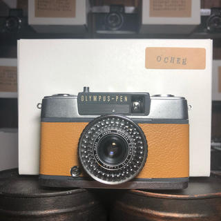 オリンパス(OLYMPUS)のOLYMPAS PEN EE-2【OCHER】classic line(フィルムカメラ)