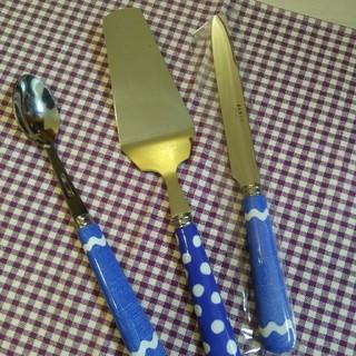 セイバー(SABRE)の新品☆SABRE☆ジャムスプーン&ディナーナイフ&ケーキサーバー♡(カトラリー/箸)