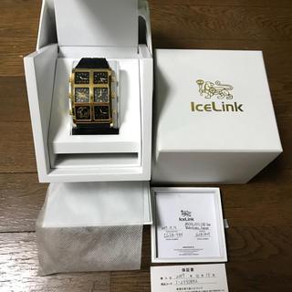 アヴァランチ(AVALANCHE)のICE LINK  GENERATION BIG CASE アイスリンク(腕時計(アナログ))