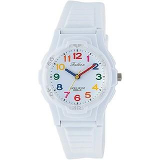 シチズン(CITIZEN)のCITIZEN Q&Q 腕時計  10気圧防水 ウレタンベルト ホワイト   (腕時計)