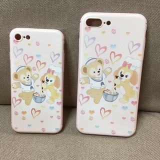 ディズニー(Disney)の日本未発売 ダッフィークッキーアン スマホケース 数量限定①(iPhoneケース)