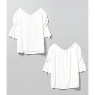 ジーナシス(JEANASIS)のジーナシス  2wayストライプSS(シャツ/ブラウス(半袖/袖なし))