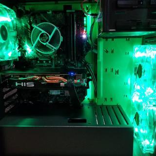 win10pro認証 コアi7-8700ES品新品使用 自作ゲーミングPC(デスクトップ型PC)