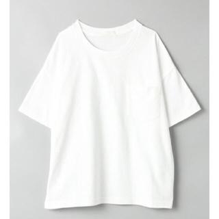 ジーナシス(JEANASIS)の新品☆ジーナシス USAコットンTシャツ ホワイト 今季(Tシャツ(半袖/袖なし))