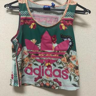 アディダス(adidas)のADIDAS タンクトップ(Tシャツ(半袖/袖なし))