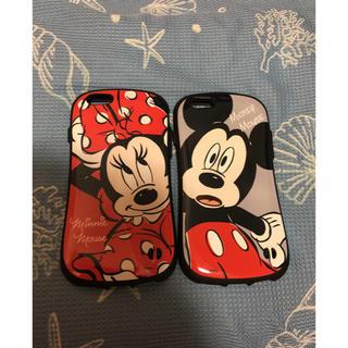 ディズニー(Disney)のミッキーとミニーのケース(iPhoneケース)
