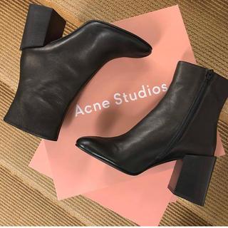 アクネ(ACNE)のacne studios ショートブーツ(ブーツ)