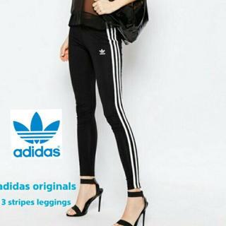 アディダス(adidas)のadidas originals スキニー ラインレギンス レギンス 三本ライン(レギンス/スパッツ)