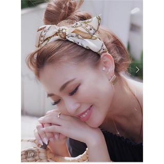 リエンダ(rienda)のrienda♡Scarf patternカチューシャ(カチューシャ)