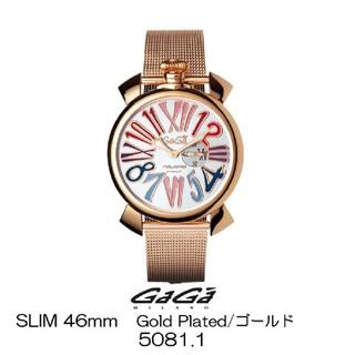 ガガミラノ(GaGa MILANO)の新品未使用!GaGa MILANOガガミラノ5081.1(腕時計)