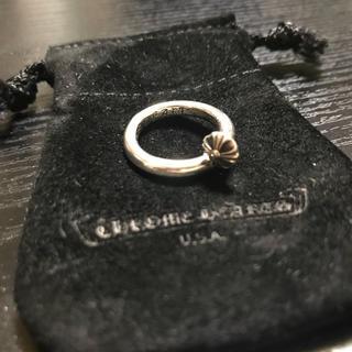 クロムハーツ(Chrome Hearts)のクロムハーツネイルリングクロスボール(リング(指輪))