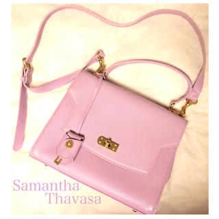 サマンサタバサ(Samantha Thavasa)のsamantha thavasa サマンサタバサ 人気色 ラベンダー バッグ(ショルダーバッグ)