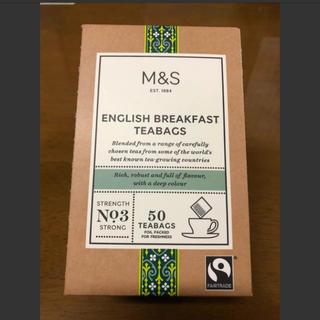 M&S  English  BREAKFAST  TEABAGS(茶)