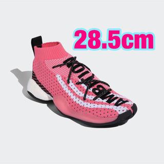 アディダス(adidas)のadidas CRAZY BYW LVL X PW Pink 28.5cm ②(スニーカー)