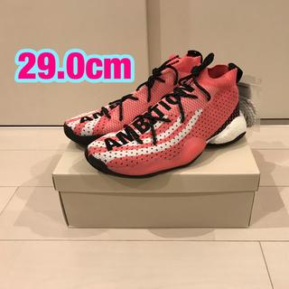 アディダス(adidas)のadidas CRAZY BYW LVL X PW Pink 29.0cm ②(スニーカー)