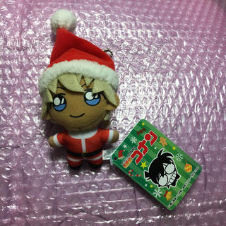 セガ(SEGA)の名探偵コナン 安室透 キーチェーンマスコット クリスマス(ぬいぐるみ)