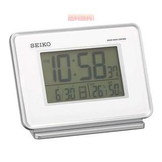 セイコー クロック 目覚まし時計 電波 デジタル 2チャン(置時計)