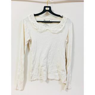 シマムラ(しまむら)の長袖Tシャツとレース襟(Tシャツ(半袖/袖なし))