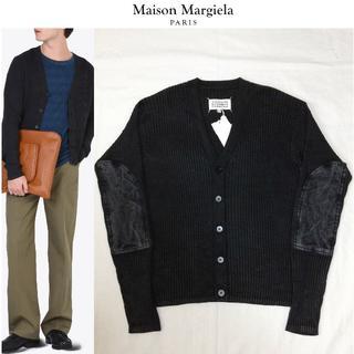 マルタンマルジェラ(Maison Martin Margiela)の定価10.3万■新品■マルジェラ 17ss■エルボーパッチ ニット■3974(カーディガン)