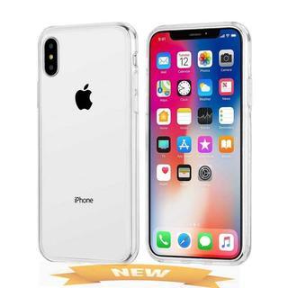 campino iPhone X ケース 背面ガラス スリム ク(iPhoneケース)