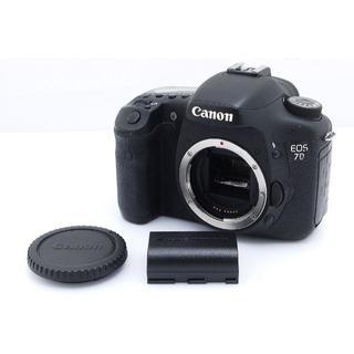 キヤノン(Canon)のCanon EOS 7D デジタル一眼レフカメラ◆V084(デジタル一眼)