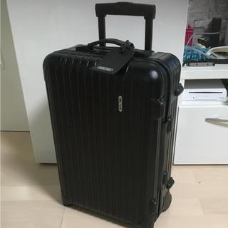 リモワ(RIMOWA)のリモワ サルサブラック 851 52 スーツケース(トラベルバッグ/スーツケース)