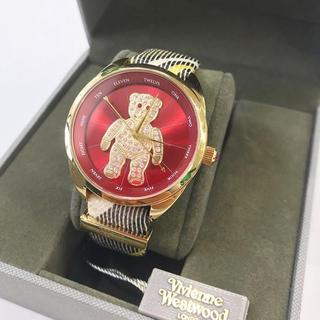 Vivienne Westwood - ヴィヴィアン ウエストウッド クレイジーベア スワロフスキー 腕時計